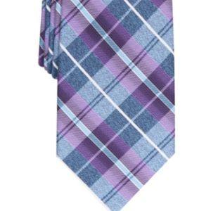Perry Ellis Men's Dever Classic Plaid Tie